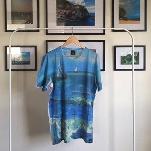 Other - NWOT Van Gogh T-shirt Seascape - XL